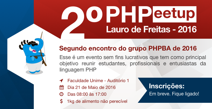 Banner do 2° PHPeetup